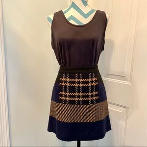 DKNY Wool Mini Skirt